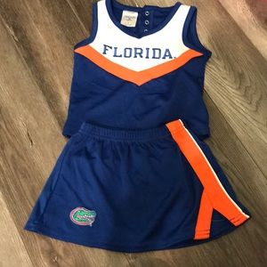 University Of Florida Cheer Outfit